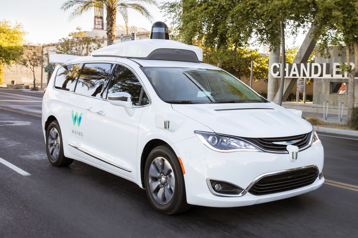 waymo self-driving car phoenix arizona