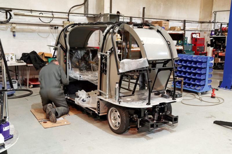 behind the scenes at westfield autonomous vehicles