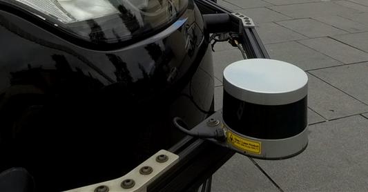 autonomous car lidar sensor