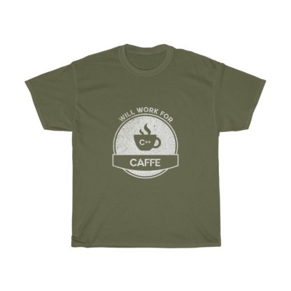 caffe green autonomous car tshirt