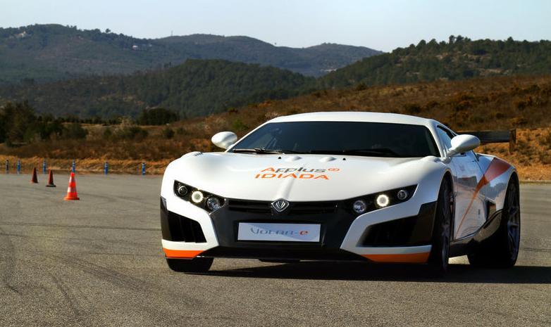 Volar-e prototype electric sports car from Applus Idiada