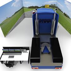 Sim Lab Driving Simulator