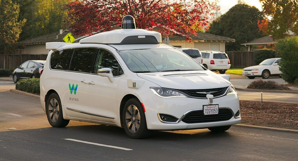 waymo autonomous car