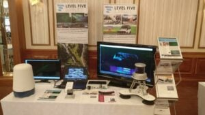 level five products on display