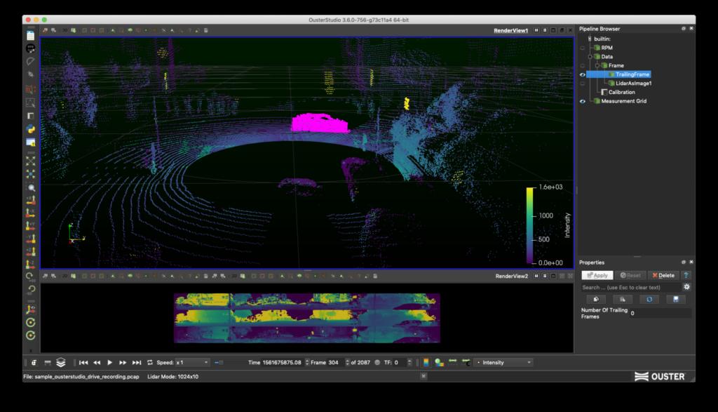 Analysing LiDAR data