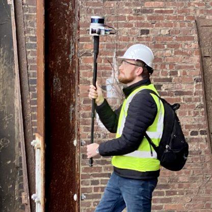 Kaarta Stencil 2 construction site survey