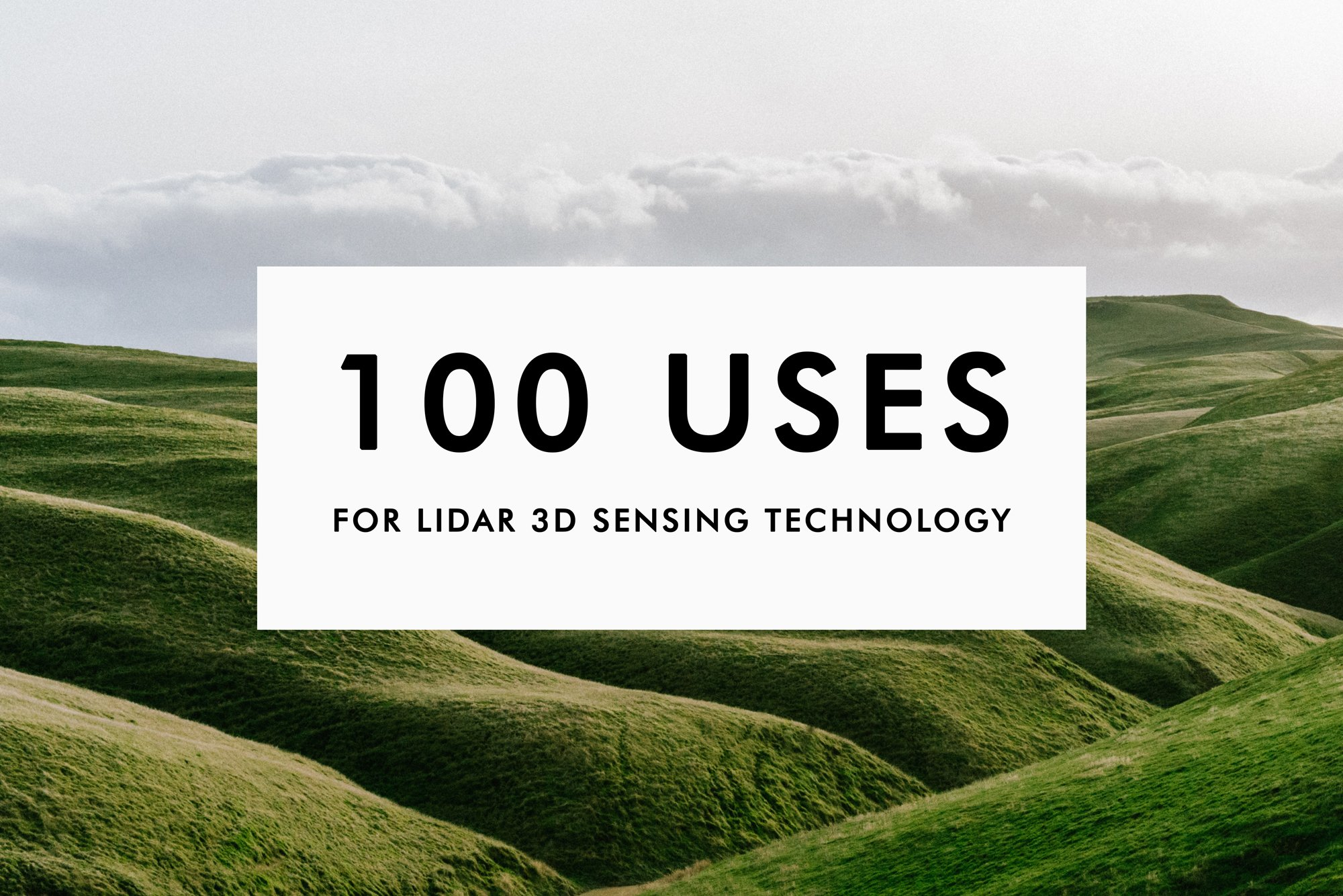100 uses lidar technology