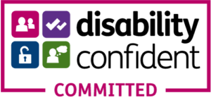 disability confident committed badge
