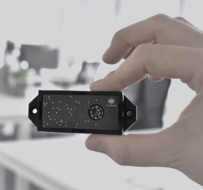 toposens ts3 sensor hand