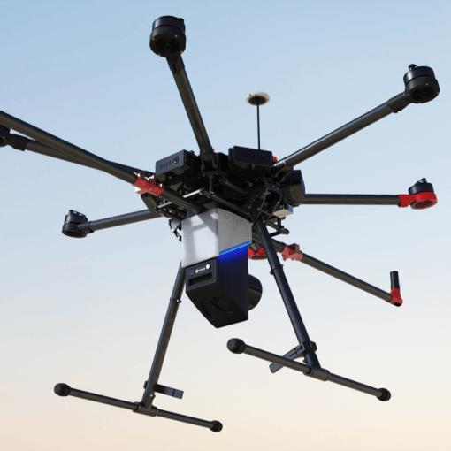 UAV equipped with RN50