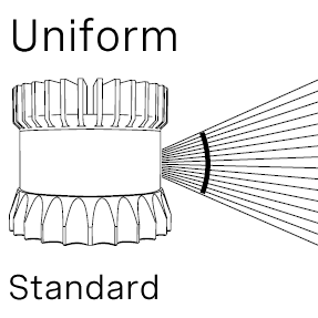 Ouster Lidar uniform standard beam spacing