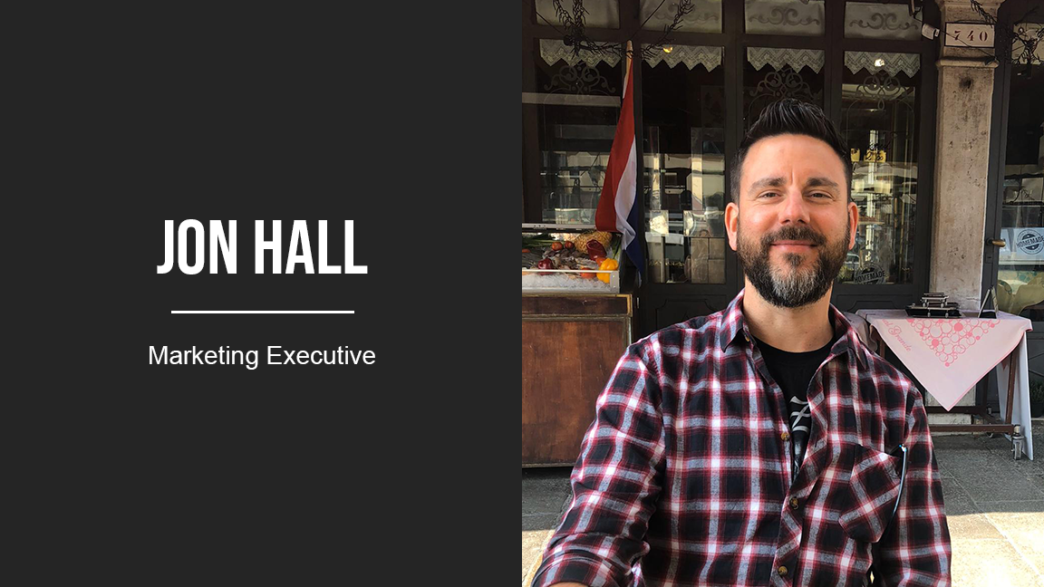 jon hall marketing executive