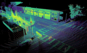 Ouster Lidar Point Cloud