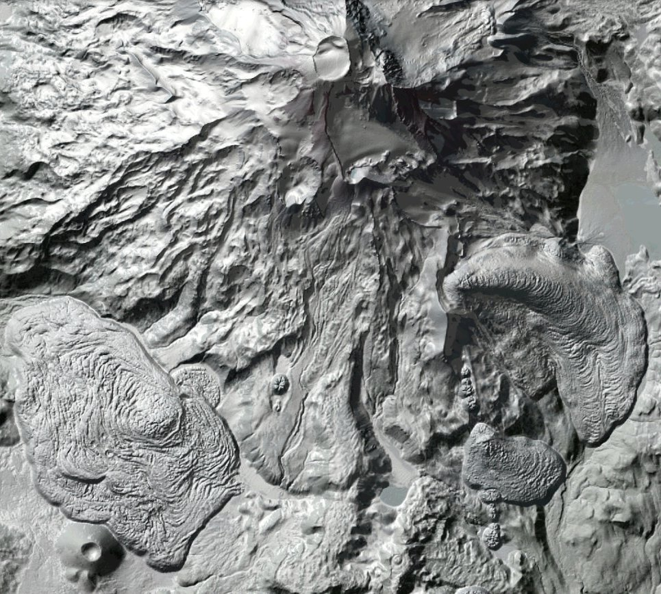 LiDAR capture of Mesa Rock