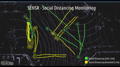 Output from SENSR-I