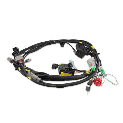 E-Kart Wiring harness with switches