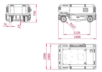 Robotnik RB VULCANO schematics