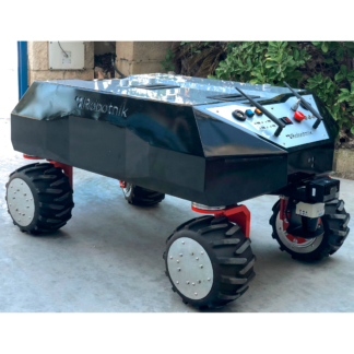 Robotnik RB-SHERPA mobile robot for logistics