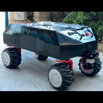 Robotnik RB-SHERPA mobile robot for logistics