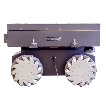 Robotnik SUMMIT-XL STEEL rugged mobile robot for r&d and logistics