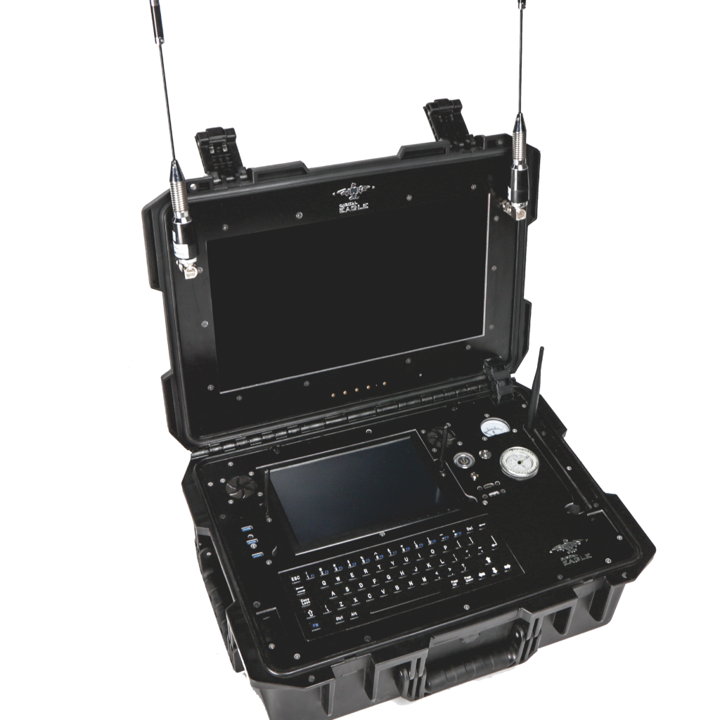 Level Five drone accessories include; ground control stations, counter UAS systems, custom payloads, landing pads, and battery and power products,