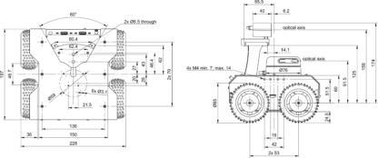 ROSbot 2.0 blueprints