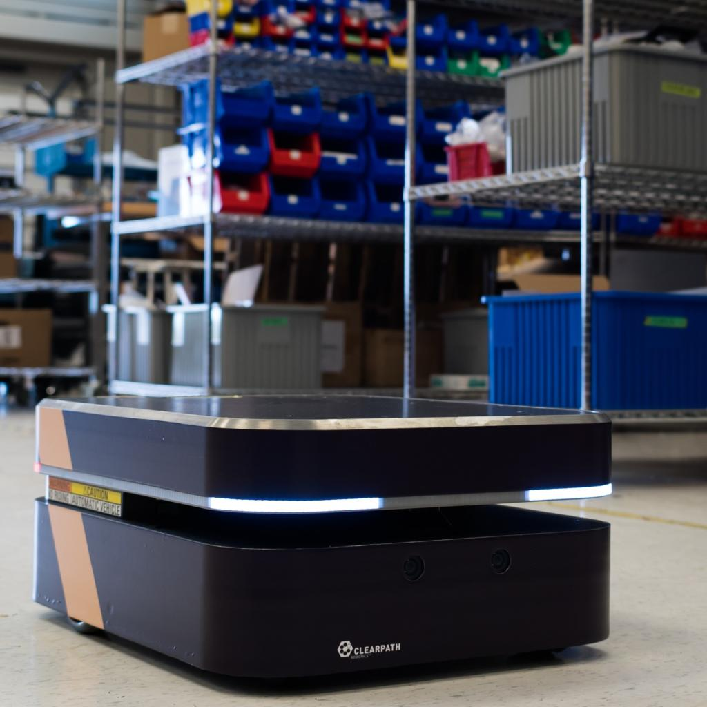 Clearpath Boxer robotic platform for logistics