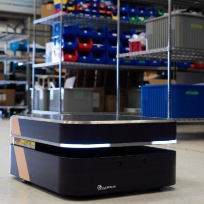 Clearpath Boxer robotic platform for logistics