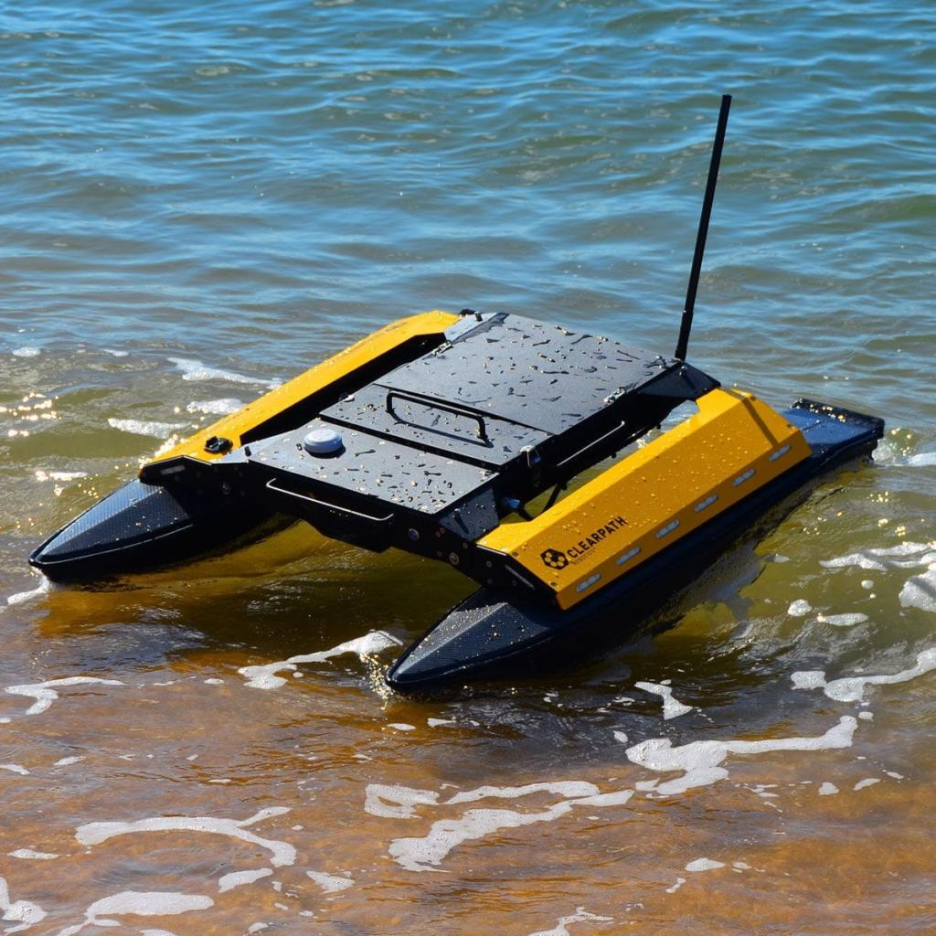 Heron unmanned surface vessel from the Clearpath range of robotic platforms