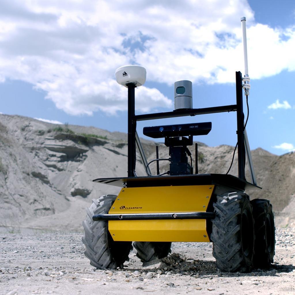 Clearpath Husky mobile robot