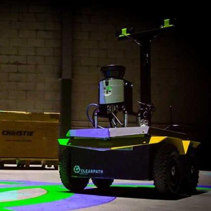 Clearpath Jackal mobile robot