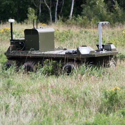 Clearpath Moose UGV in the field