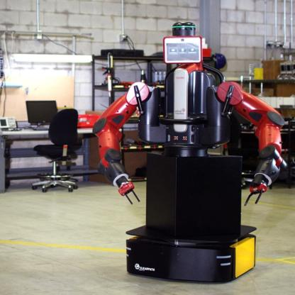 Clearpath Ridgeback with baxter robotic manipulators