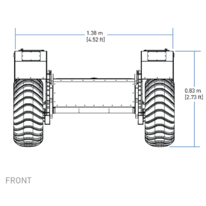 clearpath warthog blueprint front