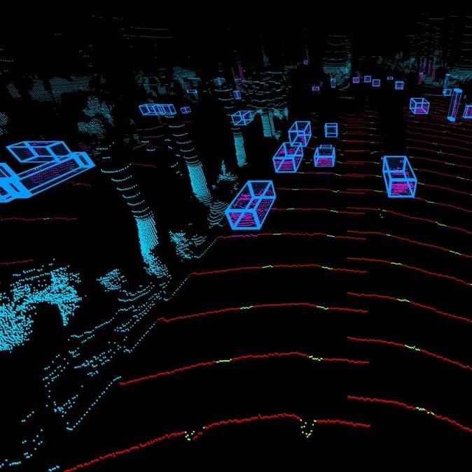Luminar's Hydra perception engine