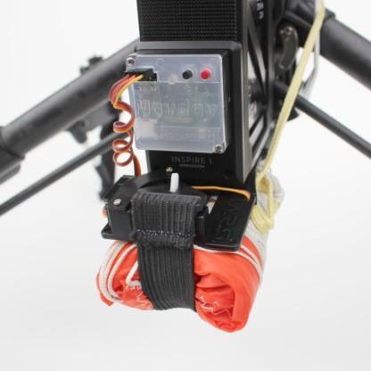Mars Inspire 1 Lite drone parachute close up