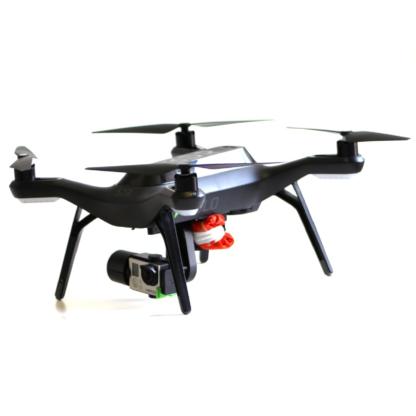 Mars Solo Lite combo drone parachute