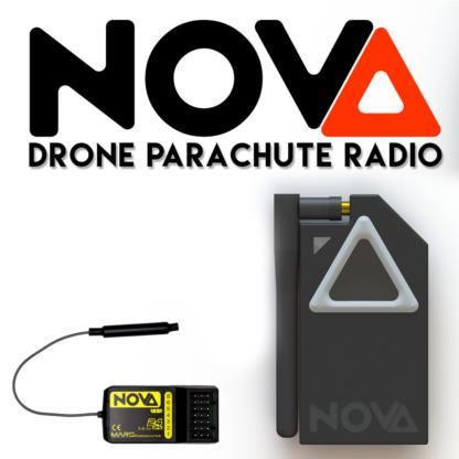 Nova drone parachute manual deployment system