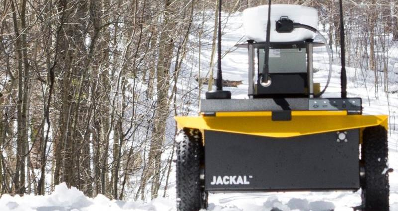 Jackal UGV from the Clearpath range of mobile robots