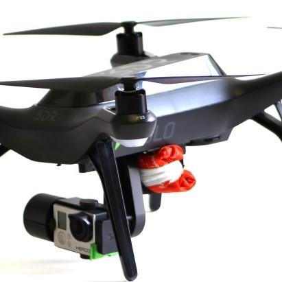 Mars Solo Lite drone parachute