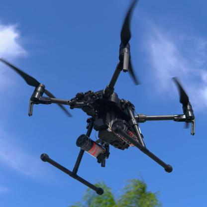 Mars Matrice 200 Pro drone parachute bundle