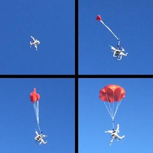 P2 pro parachute deployment