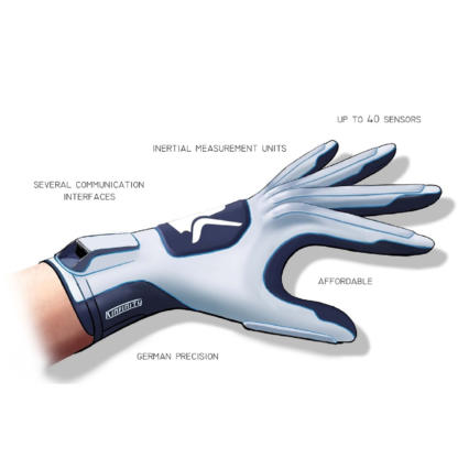 The Kinfinity Glove Features