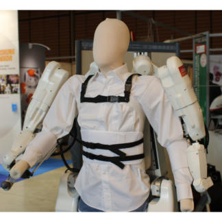 Hapton Able telerobotic haptic exoskeleton