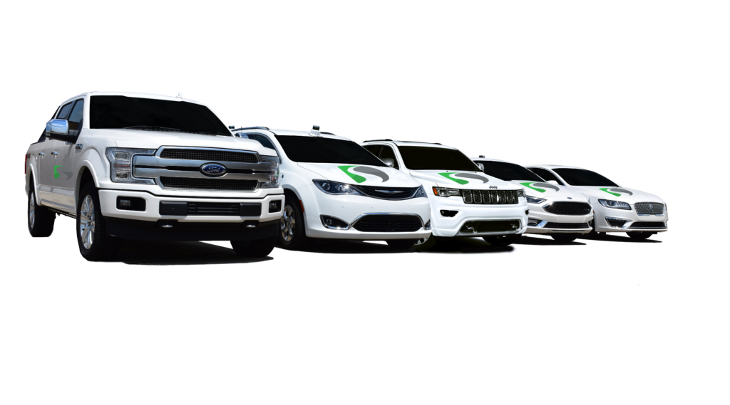 Dataspeed AV Vehicle Fleet