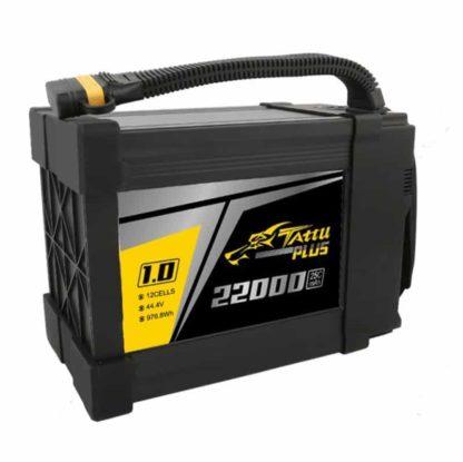 Tattu Plus 1.0 22000mAh 44.4V 25C 12S1P Lipo UAV Battery with AS150U plug