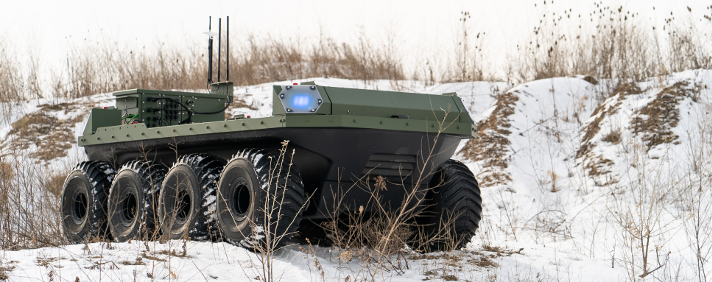 Clearpath is an all-terrain UGV designed for robot applications in security and defence