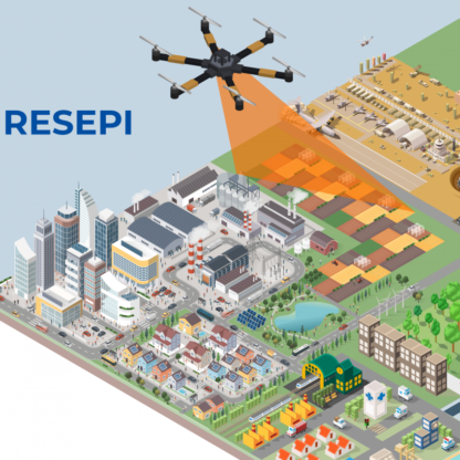 LiDAR Remote Sensing Payload Instrument (RESEPI) is compatible with a range of drones