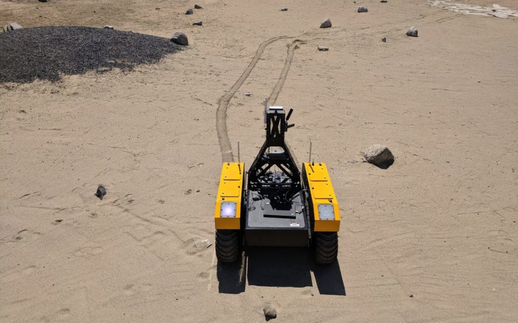 Clearpath  Warthog UGV expedites mission to Mars