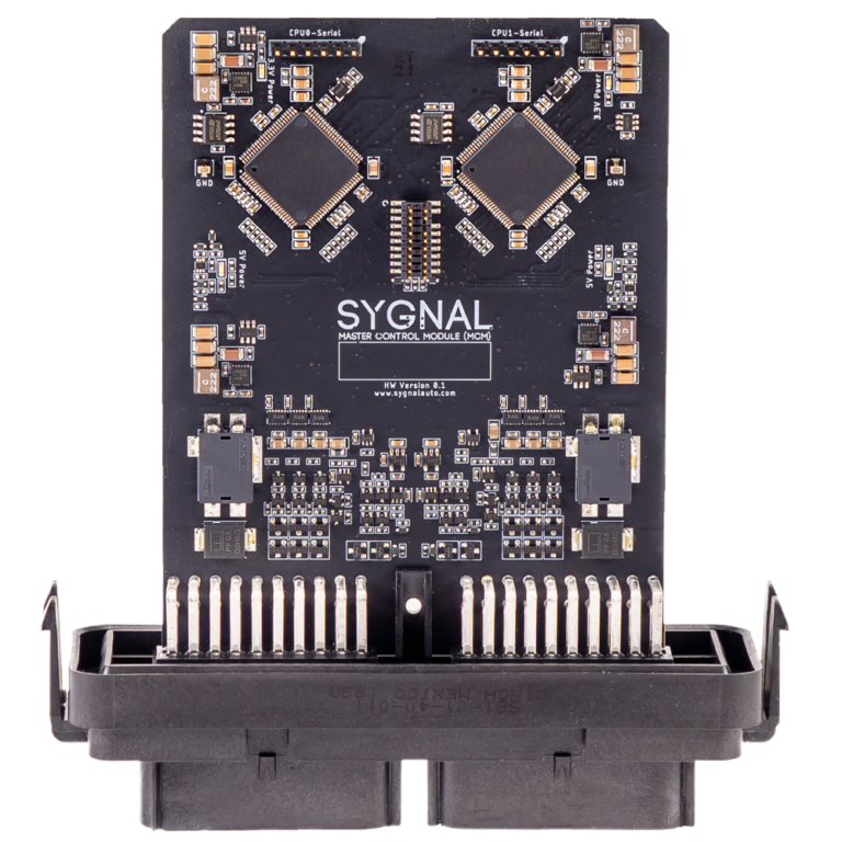 Sygnal - safety critical drive-by-wire